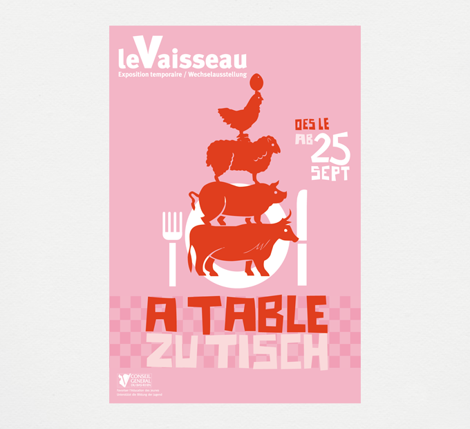 """Le Vaisseau / """"À table !"""" Exposition temporaire #2"""