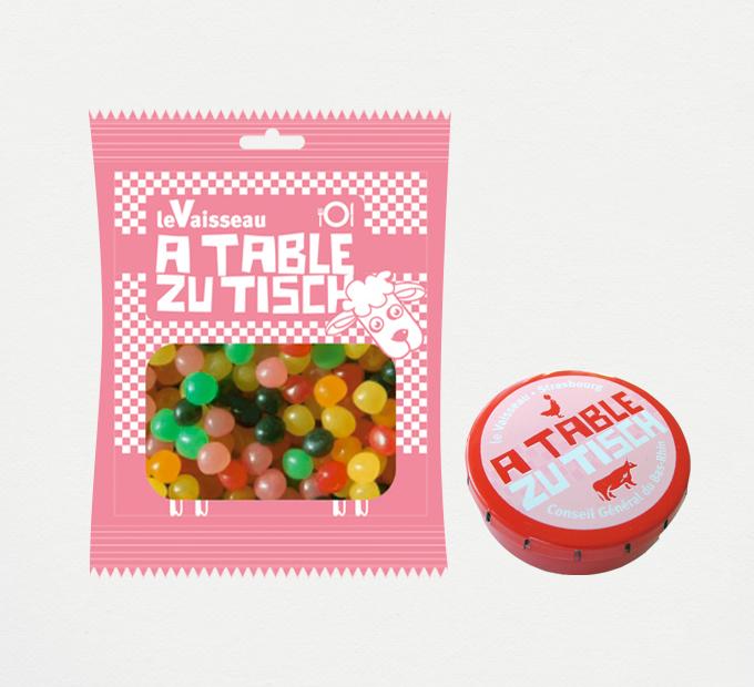 Boîtes de bonbons