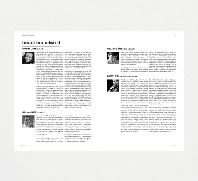 Festival international de musique classique / Livre programme #3