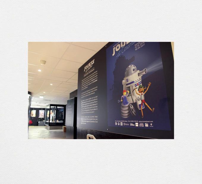 Musée du Jouet / « Jouets et cinéma » Exposition temporaire